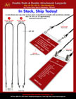Ready ToGo Double Ends - Badge Clips or Swivel Hooks  Lanyards
