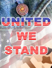"""United We Stand""  -   With Fashion Denim and Desert Storm Camo Themes."